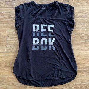 🏋🏻♀️ Reebok Black Shirt Sleeve Shirt 🏋🏻♀️